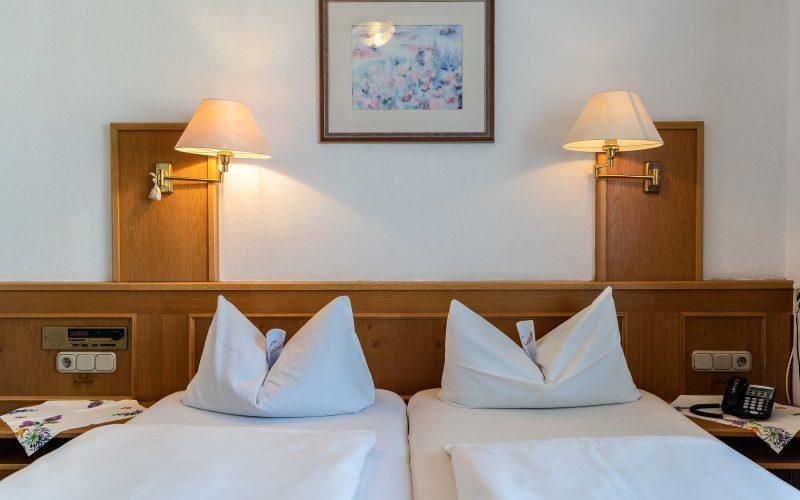 Dragoner Peiting Hotel Doppelbett