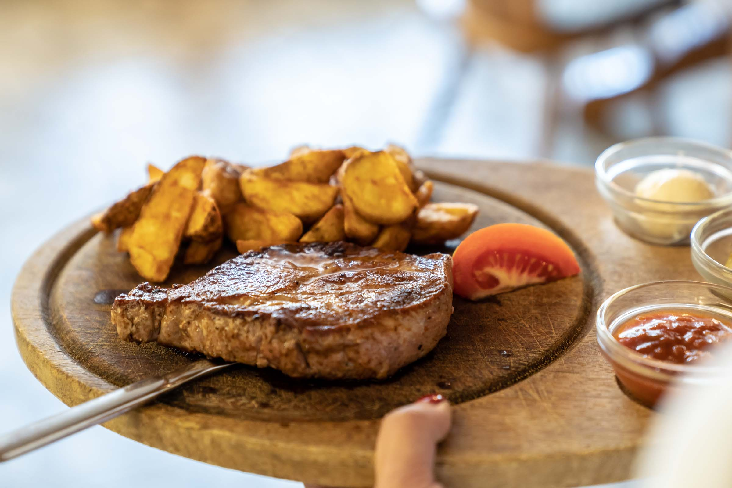 Ausgefallene Steaks Peiting
