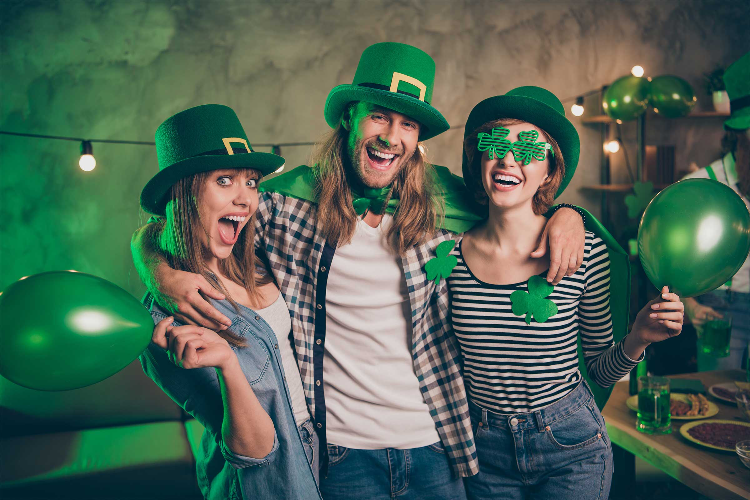 St. Patricks Day Woche im Xaver